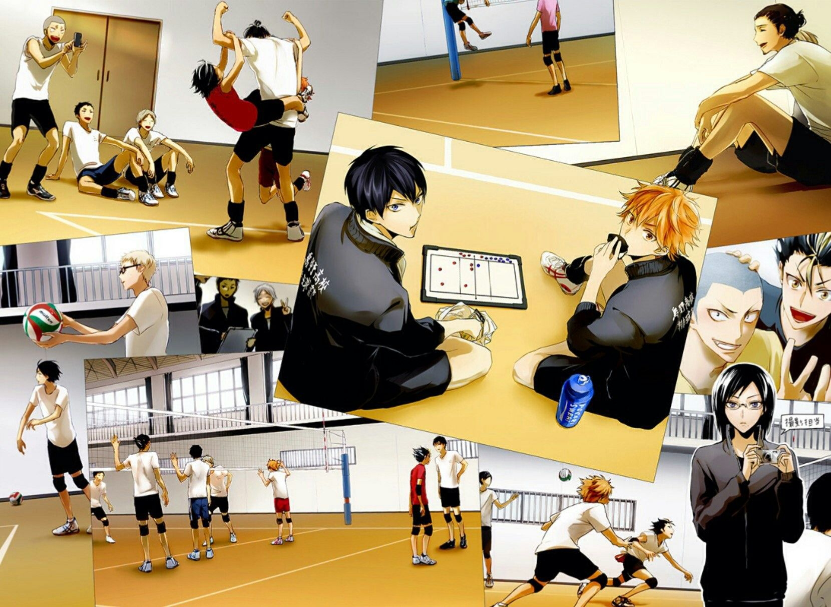 Pin by Volly Doll on Волейбол!! haikyuu!! hq (With