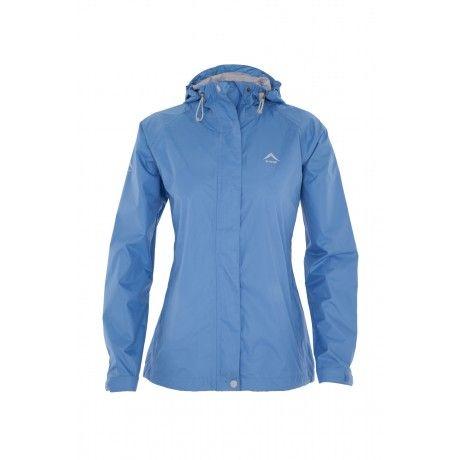 The K-Way Women's Misty Rain Jacket is lightweight, seam -sealed ...
