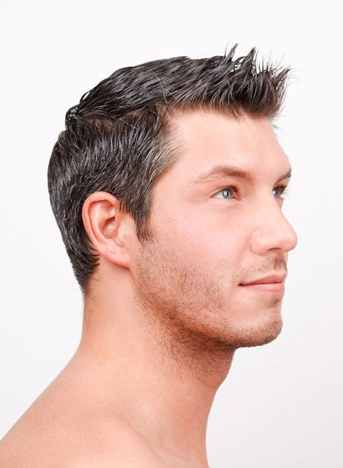 Steel Grey Hair Color For A Man | Men\'s Colour | Pinterest | Gray ...