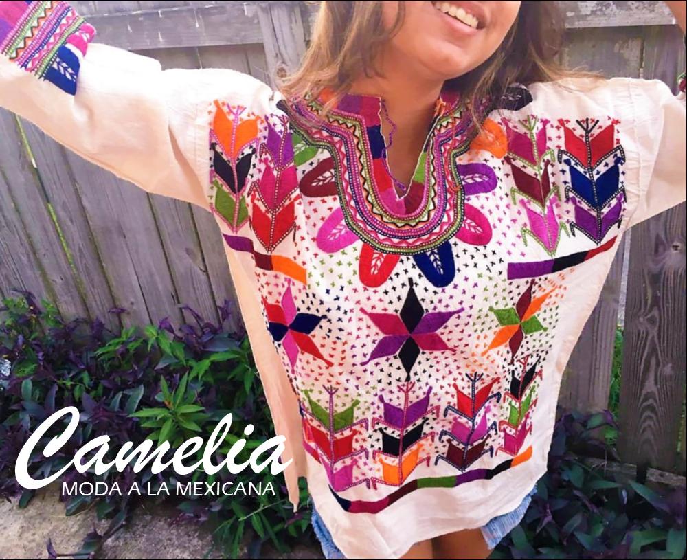 2fdeba7145755 Mexican blouse - milpa