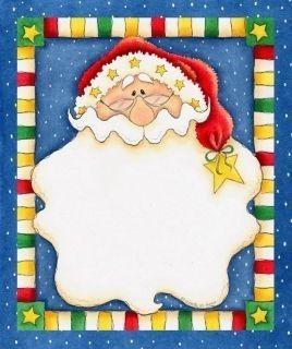 Resultado de imagen para etiquetas y bordes con motivos - Tarjetas con motivos navidenos ...
