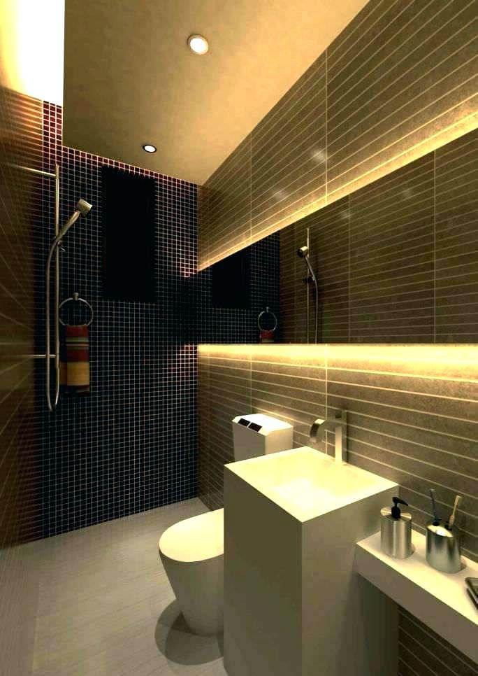 Bathroom Recessed Lighting Tall E Led