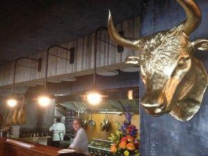 La Parada Kitchen With Bull Head Whale Cottage Portfolio Bar De Tapas Bar Tapas