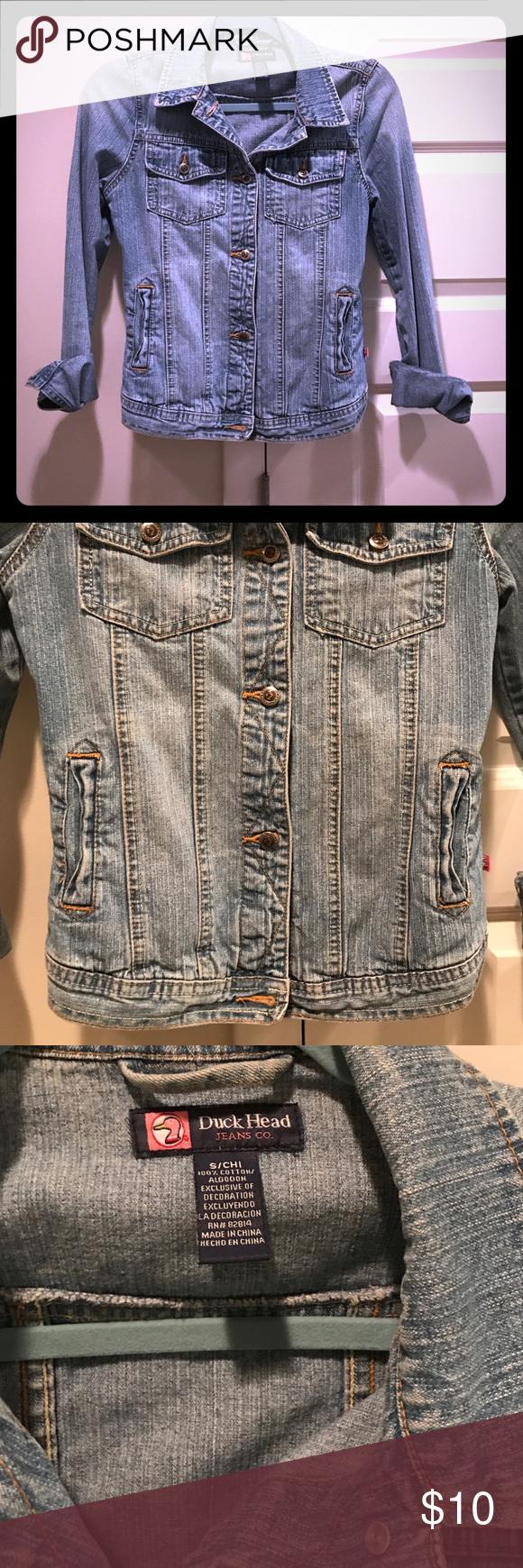 Light colored jean jacket Light colored jean jacket Duck Head Jean co Jackets & Coats Jean Jackets