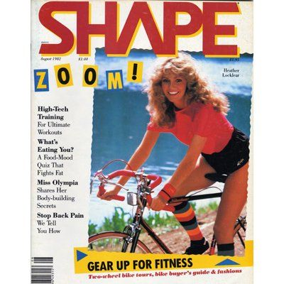 Shape Magazine August 1982 Top Workout Songs Workout Songs