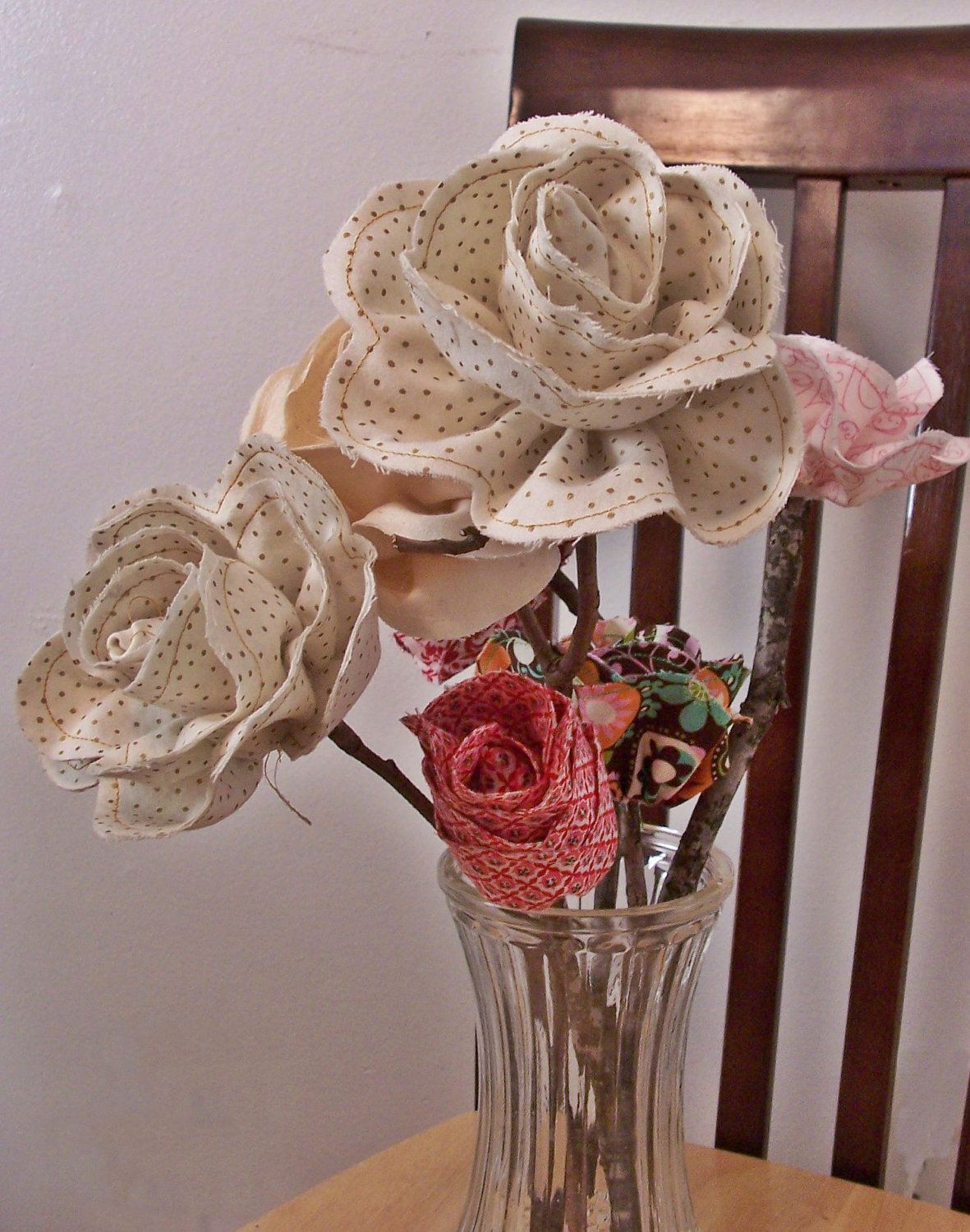 Featured on western decor blog could i make flowers with bandana