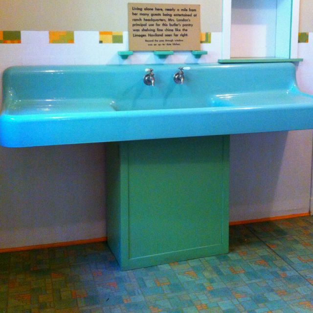 Jadeite Sink At House Of Happy Walls, Jack London State