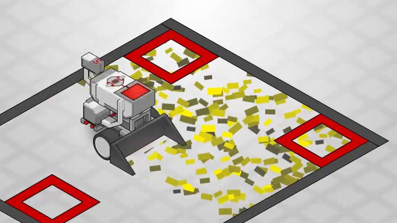 EV3 Curriculum Series: Mower Challenge | LEGO | Pinterest ...