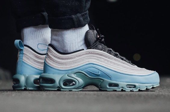 pretty nice 4c7b1 646ba Now Available  Nike Air Max Plus 97 Mica Green (Layer Cake)