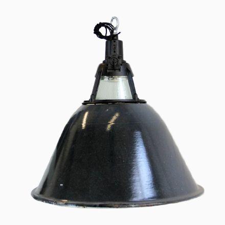 Große Sowjetische Industrielle Fabrik Lampe, 1950er Jetzt bestellen - lampe badezimmer decke