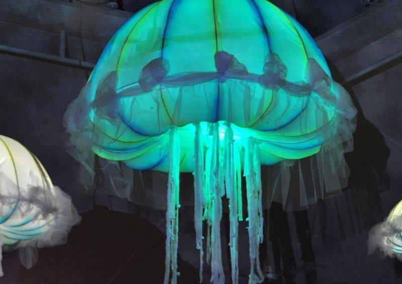 Changing Color Jellyfish Decor Jellyfish Decorations
