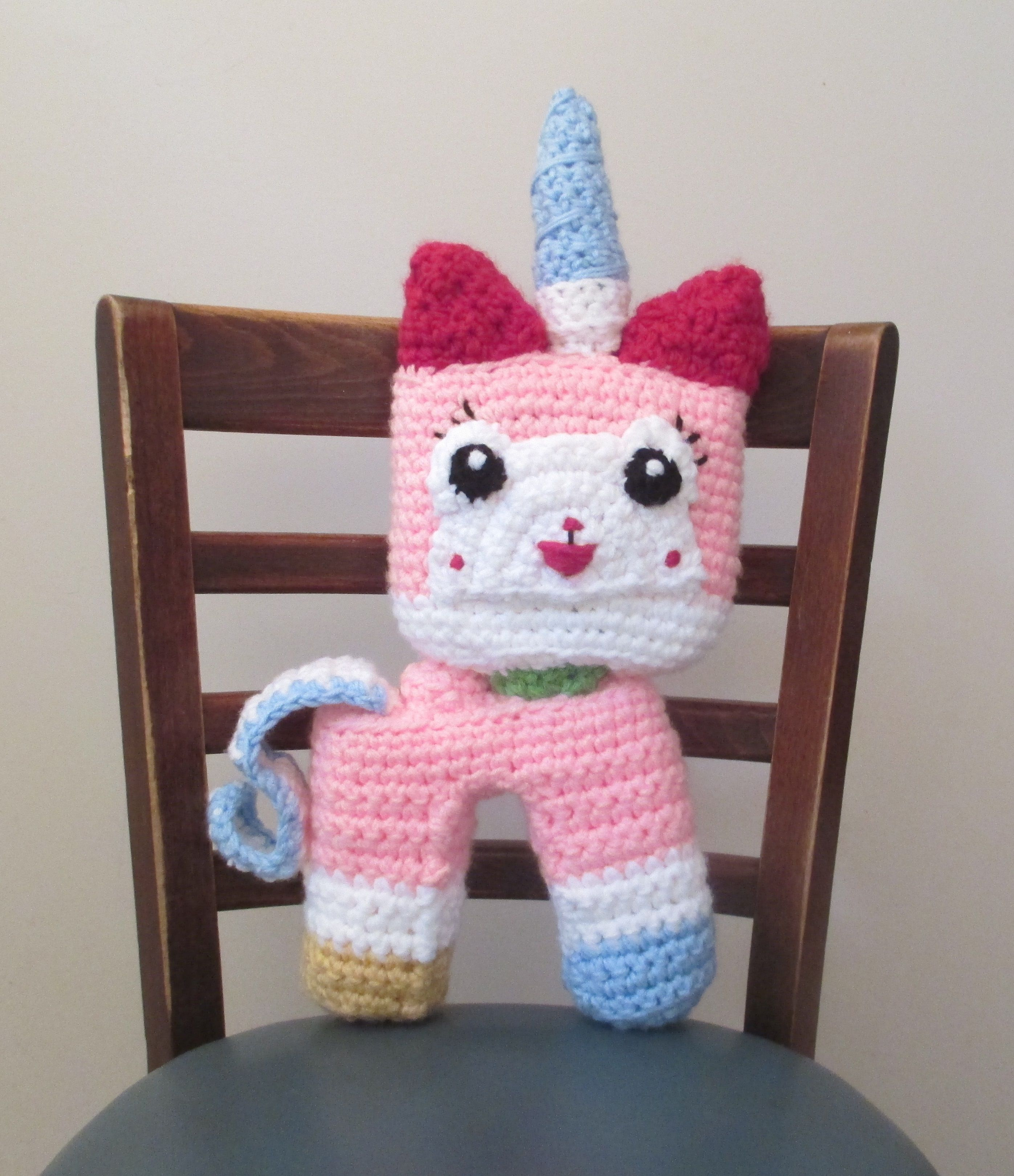 The Lego Movie, Unikitty Crochet for Anika. | Mums projects | Pinterest