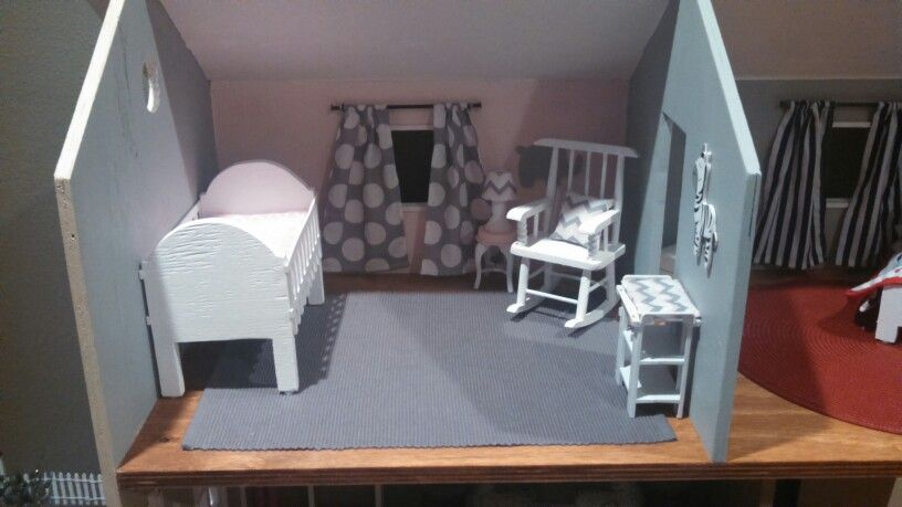 Barbie baby room