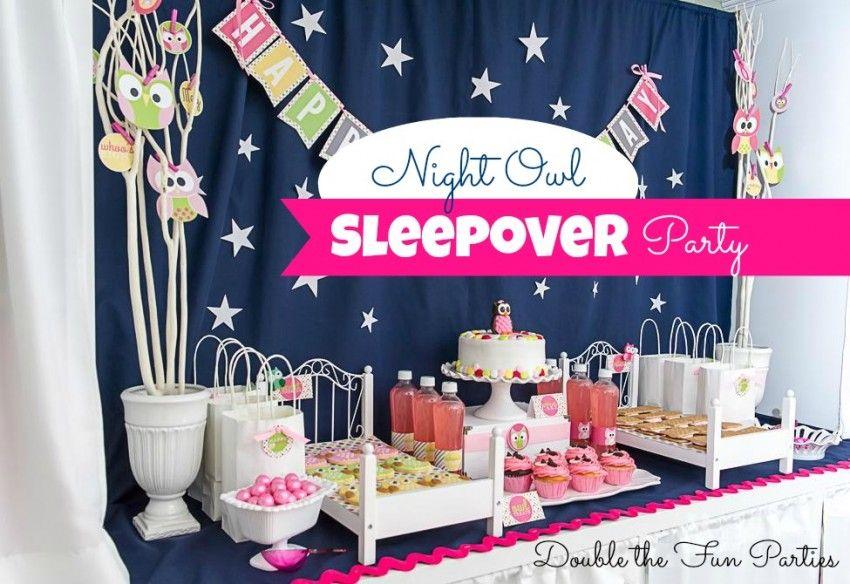 DFP Night Owl Sleepover Party