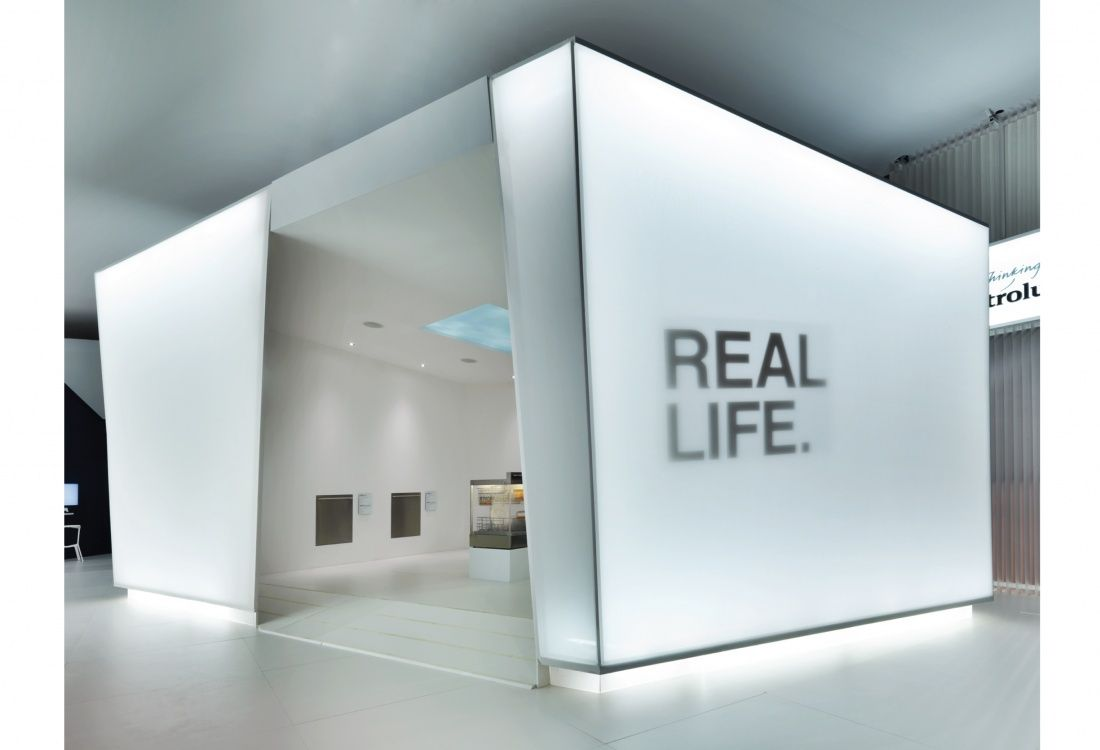 Modular Exhibition Stands Tall : Pin by and studio on exhibitions fairs 파사드 아파트
