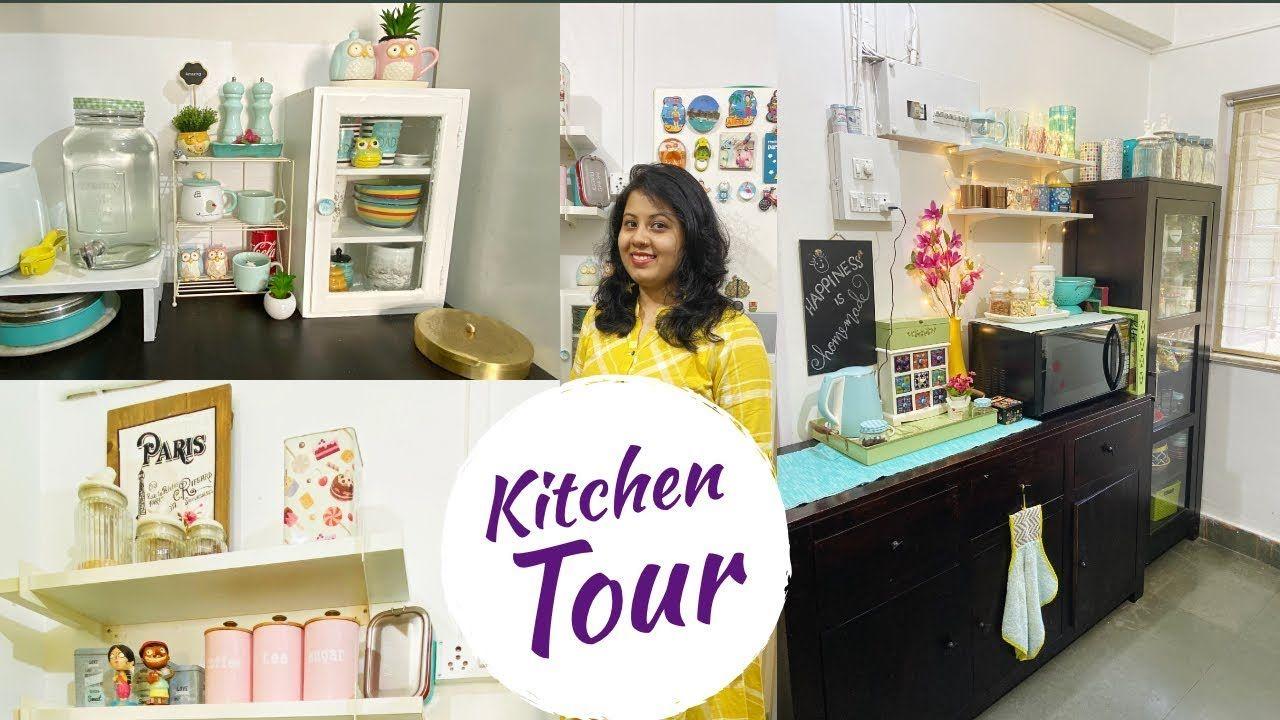 Organized Kitchen Tour Indian Small Kitchen Countertop