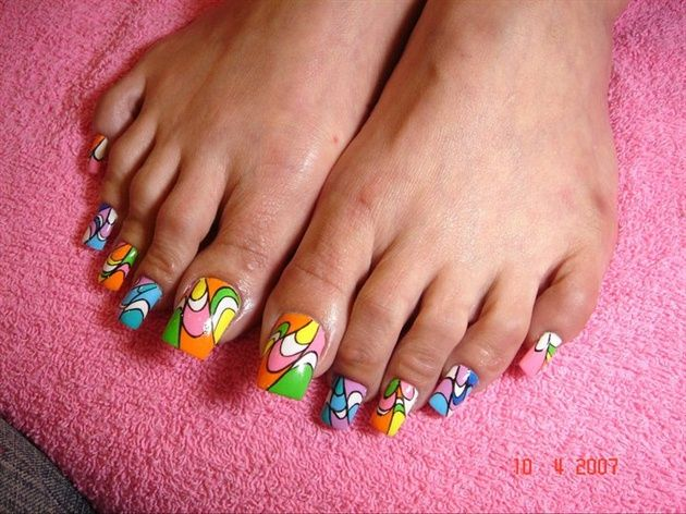 Long Acrylic Toes Nail Art Gallery Nailartgalleryilsmag By