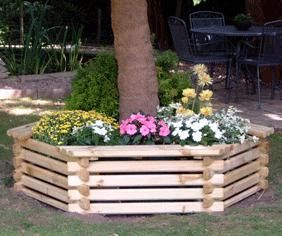 Garden Ideas Around Trees front yard landscape project good idea to add some pizzazz around our trees garten pinterest front yards Planter Box Around Tree Not As High With Mulch We Aren