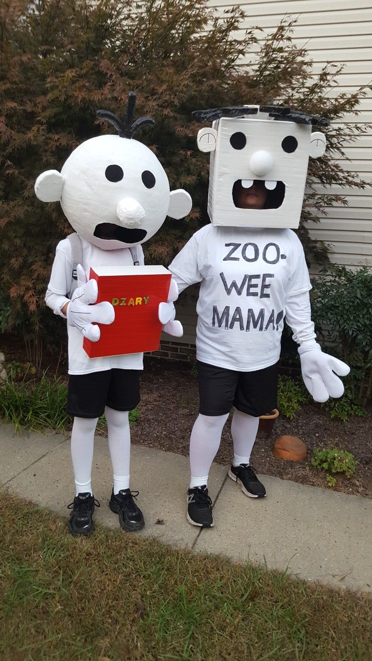Diary Of A Wimpy Kid Greg Heffley And Rowley Jefferson Rowley Diary Of A Wimpy Kid Wimpy Kid Rowley Jefferson