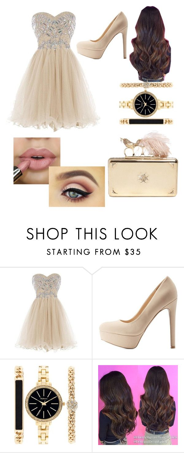 """""""Date"""" by dash703 ❤ liked on Polyvore featuring Qupid, Style & Co., Alexander McQueen, FirstDate and date"""
