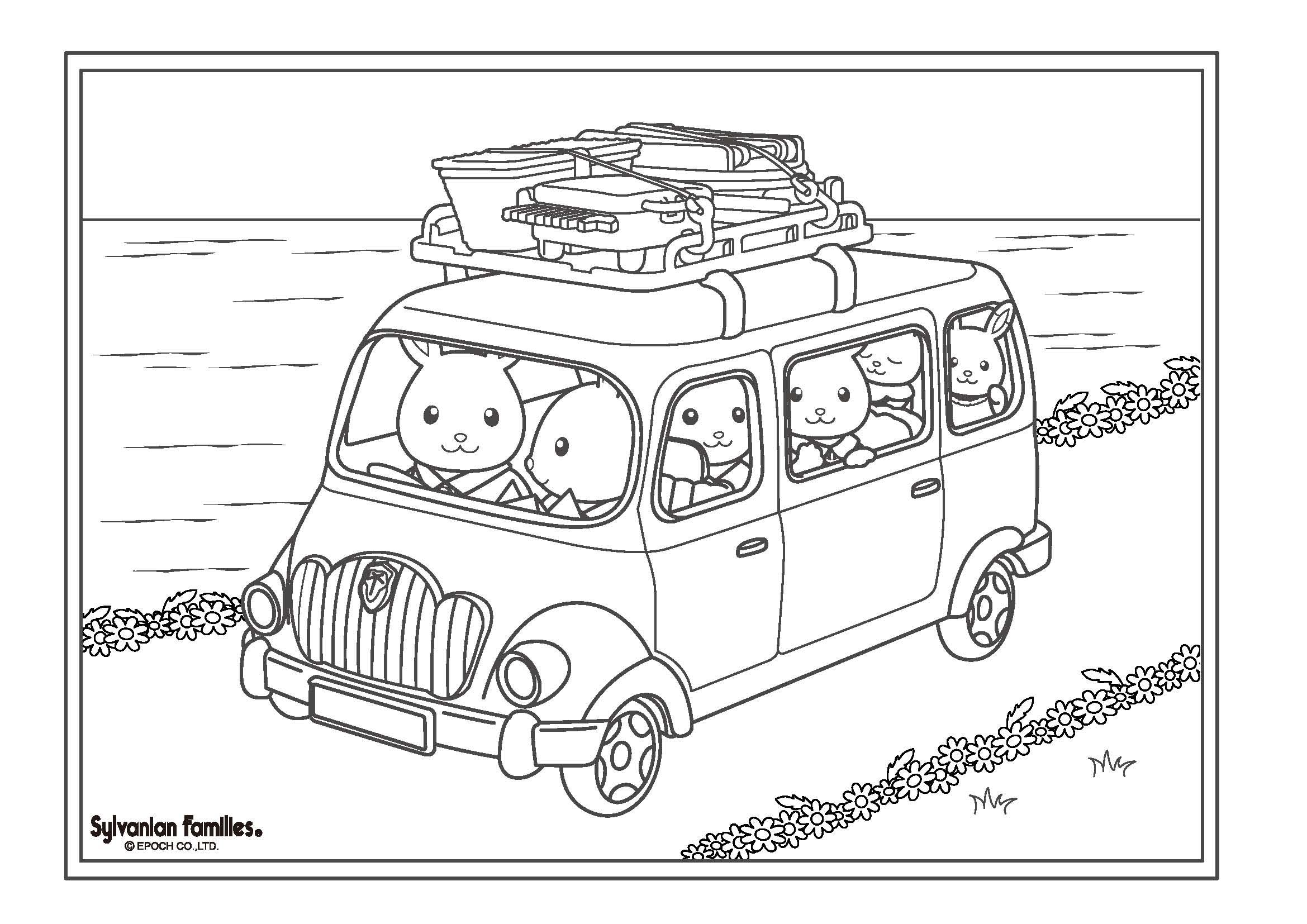 17 Coloring Pages Of Calico Critters On Kids N Fun Co Uk On Kids N Fun You Will Always Find The Bes Coloring Books Family Coloring Pages Animal Coloring Books
