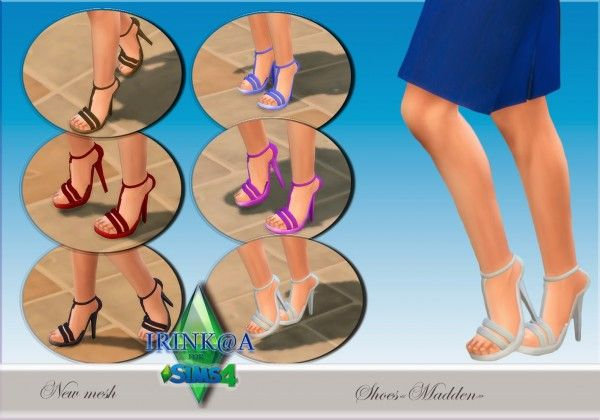 Irinka: Shoes �Maddlen� � Sims 4 Downloads