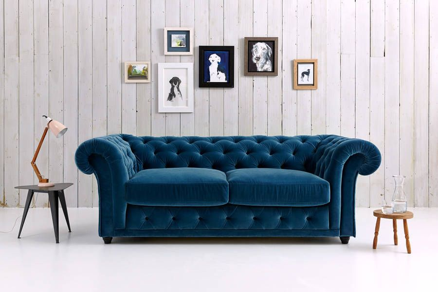 Churchill Chesterfield Sofa Bed For The Husband To Sit On And Wait Me Get Ready Goes In Bay Window