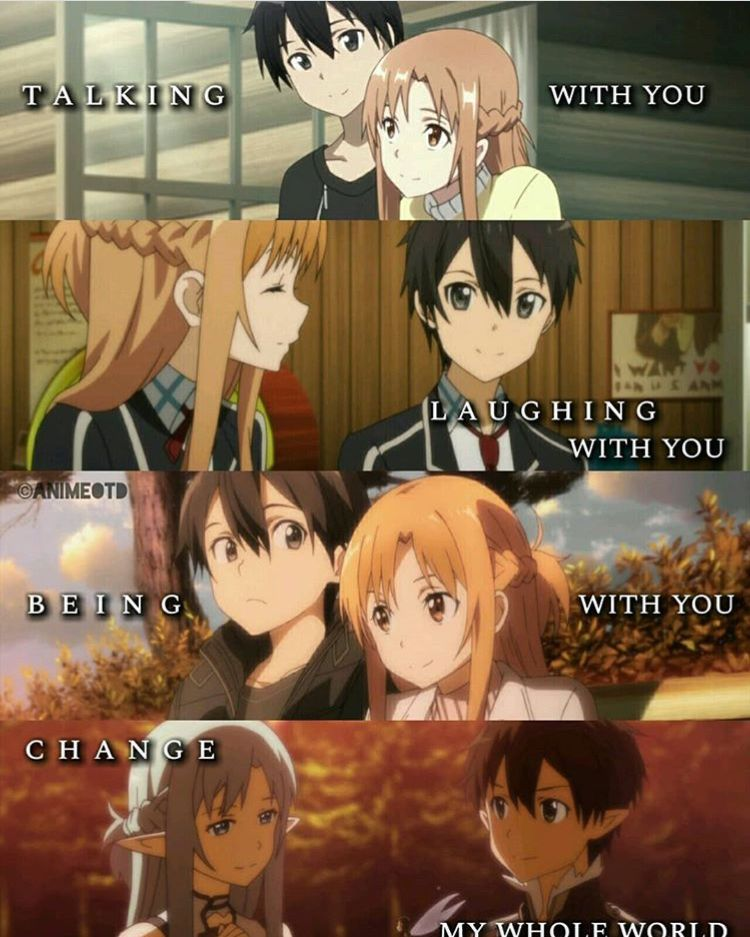The Perfect Love (Is Definitely Exist) (SAO)