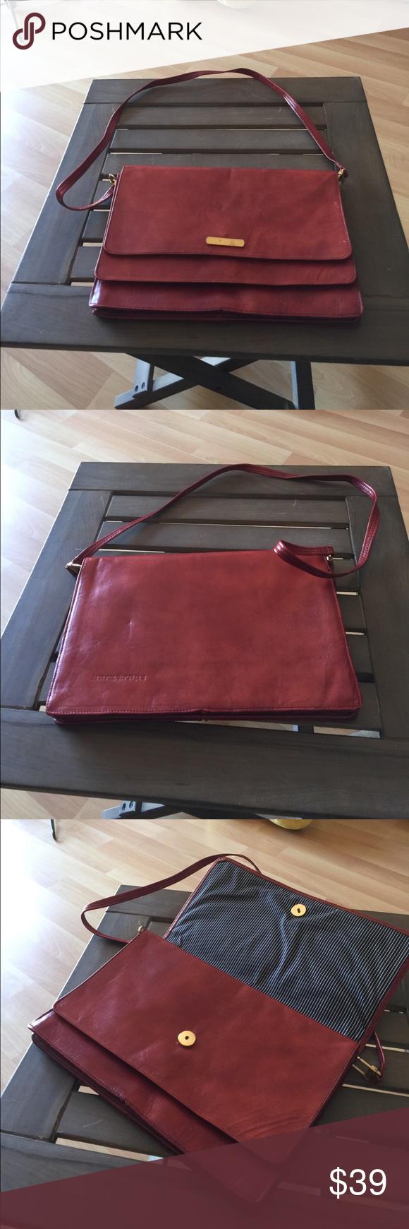 65de7efd9c2 ALDO safari satchel bag