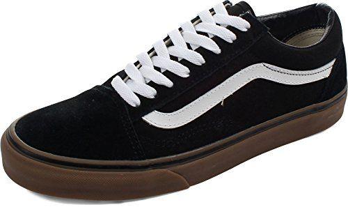 ddd92060c6 Vans Unisex Old Skool Gumsole BlackMedium Gum Skate Shoe 10 Men US 115  Women US