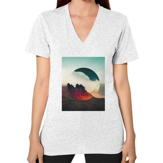 Second Sphere V-Neck (on woman)