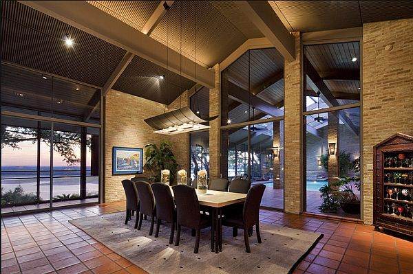 Attractive Three Beautiful Homes With Indoor Pools Design Ideas
