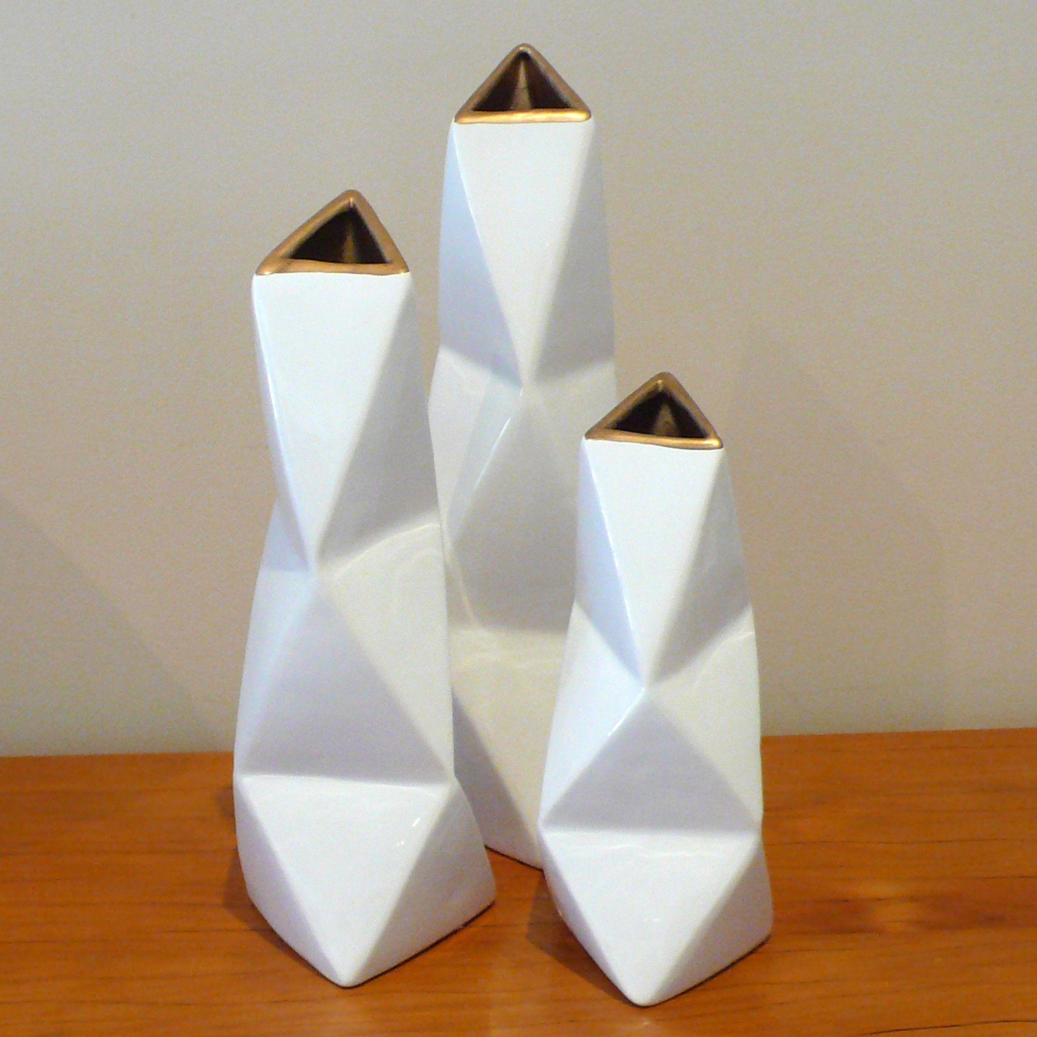 50 elegant vase shapes home idea interesting geometric shapes create an on trend striking reviewsmspy