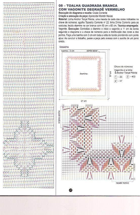 Bordado em Vagonite Geométrico - Rosilda Maria - Picasa Web ...