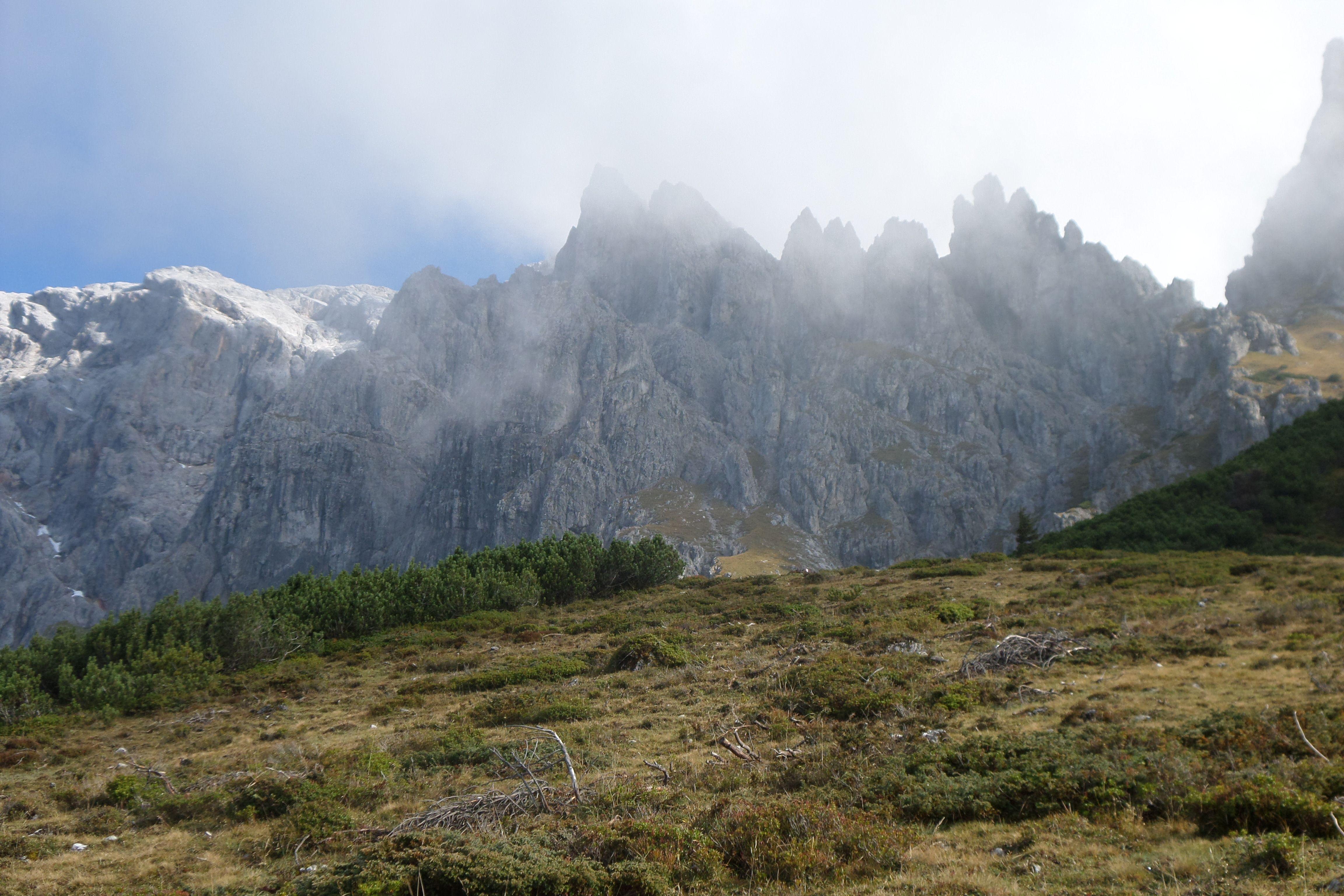 Traumhafte Aussichten auf den Hochkönig und den Königsjodler #Klettersteig in den Ost #Alpen