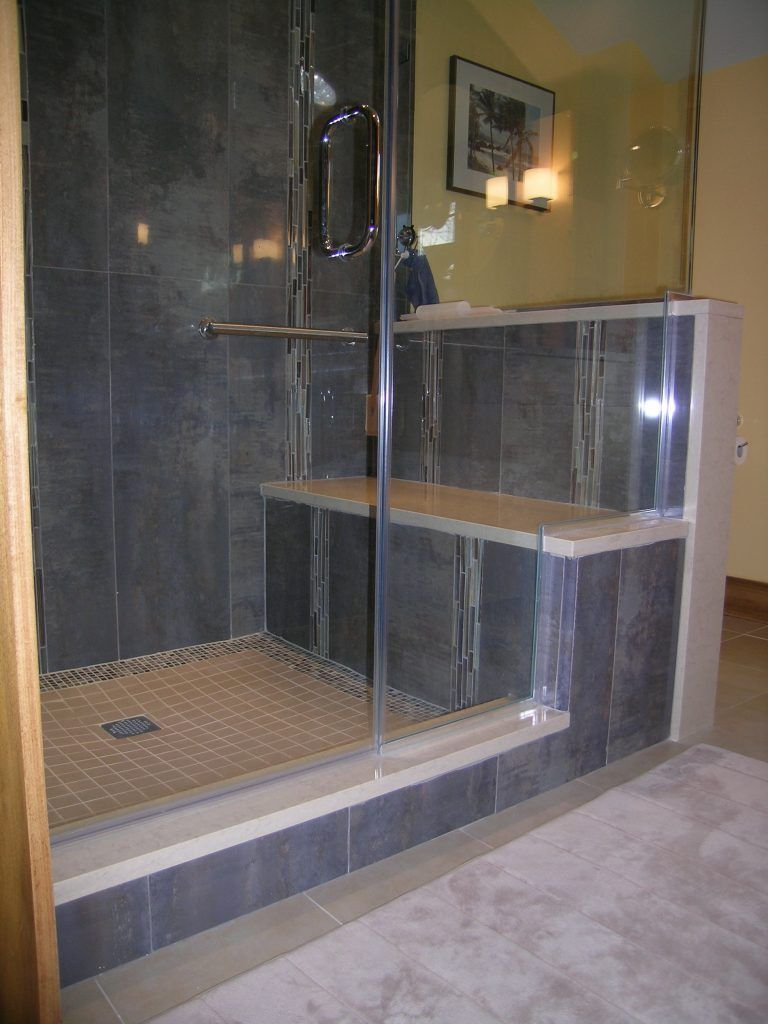 Bathroom Appealing Tiled Shower Ideas Walk Pictures Design In Seat