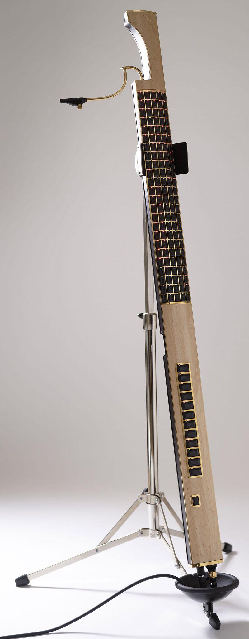 The Eigenharp. A sleek and beautiful musical instrument with astonishing performance capabilities.   WeImprovise.net