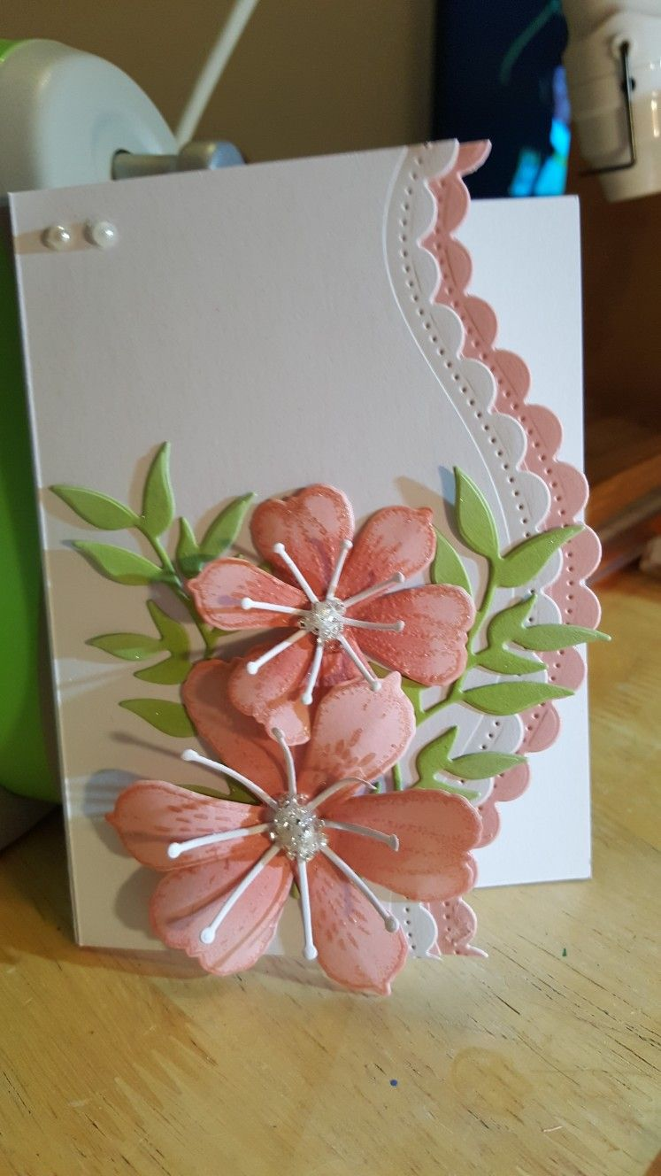 Pin By Dotti Lewis On Elegant Embellishments Cards Handmade