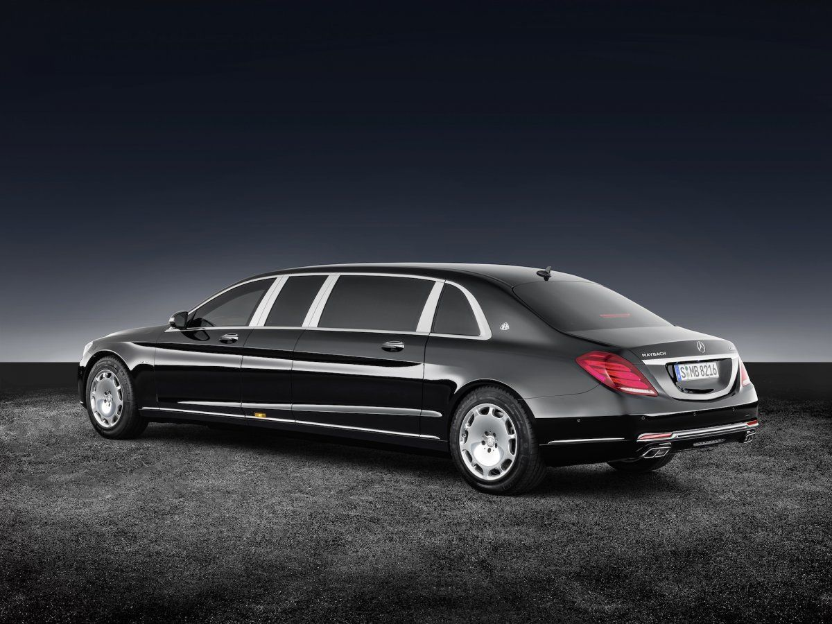 This Is The 1 6 Million Armored Mercedes Maybach Limo You Can T