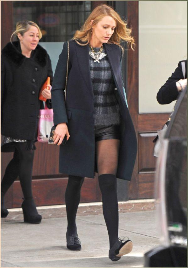 Blake Lively @ NY fashion week