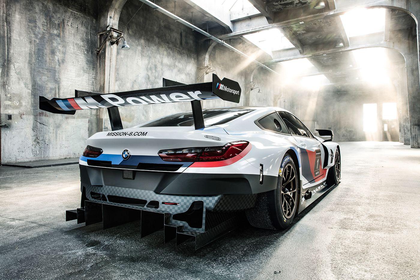 The Bmw M8 Gte Has Huge Kidney Grille Nostrils Bmw Sport Race Cars Bmw Cars