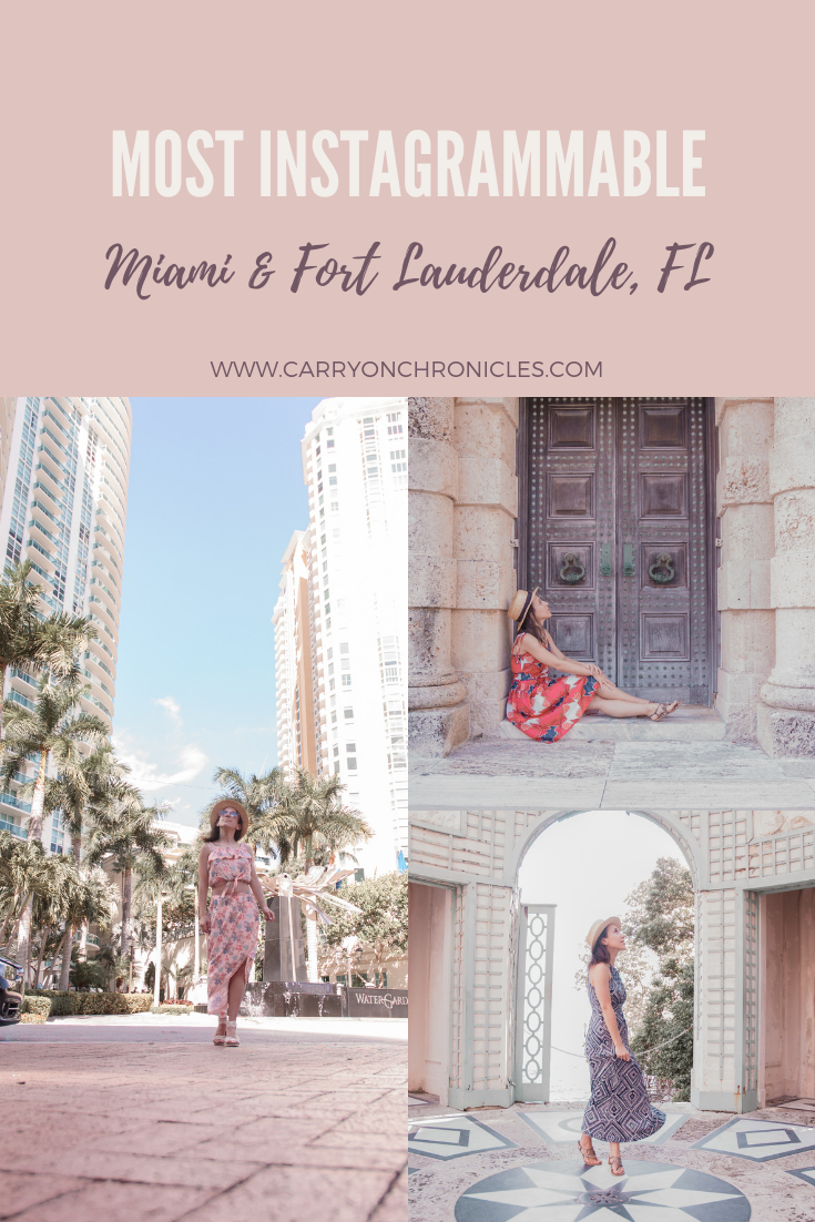 Most Instagrammable Places in Miami & Fort Lauderdale