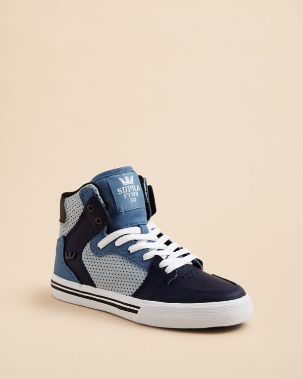 64a9cb8777 Supra Boys' Vaider High Top Sneakers - Toddler, Little Kid, Big Kid ...