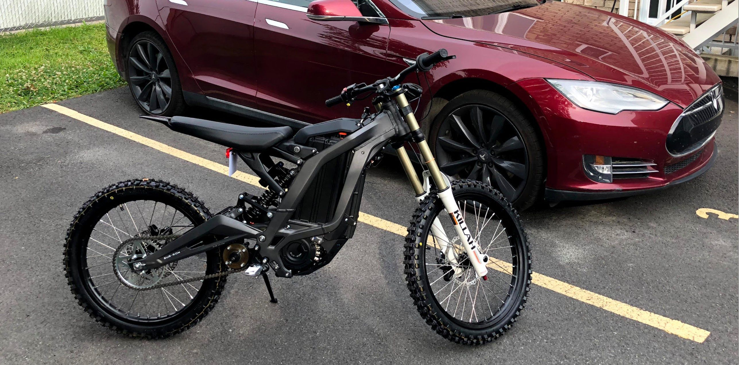 Electrek Review Sur Ron Is A Monster Electric Bike With 50 Miles Of Range And Insane Top Speed Electric Bike Fast Electric Bike Bike