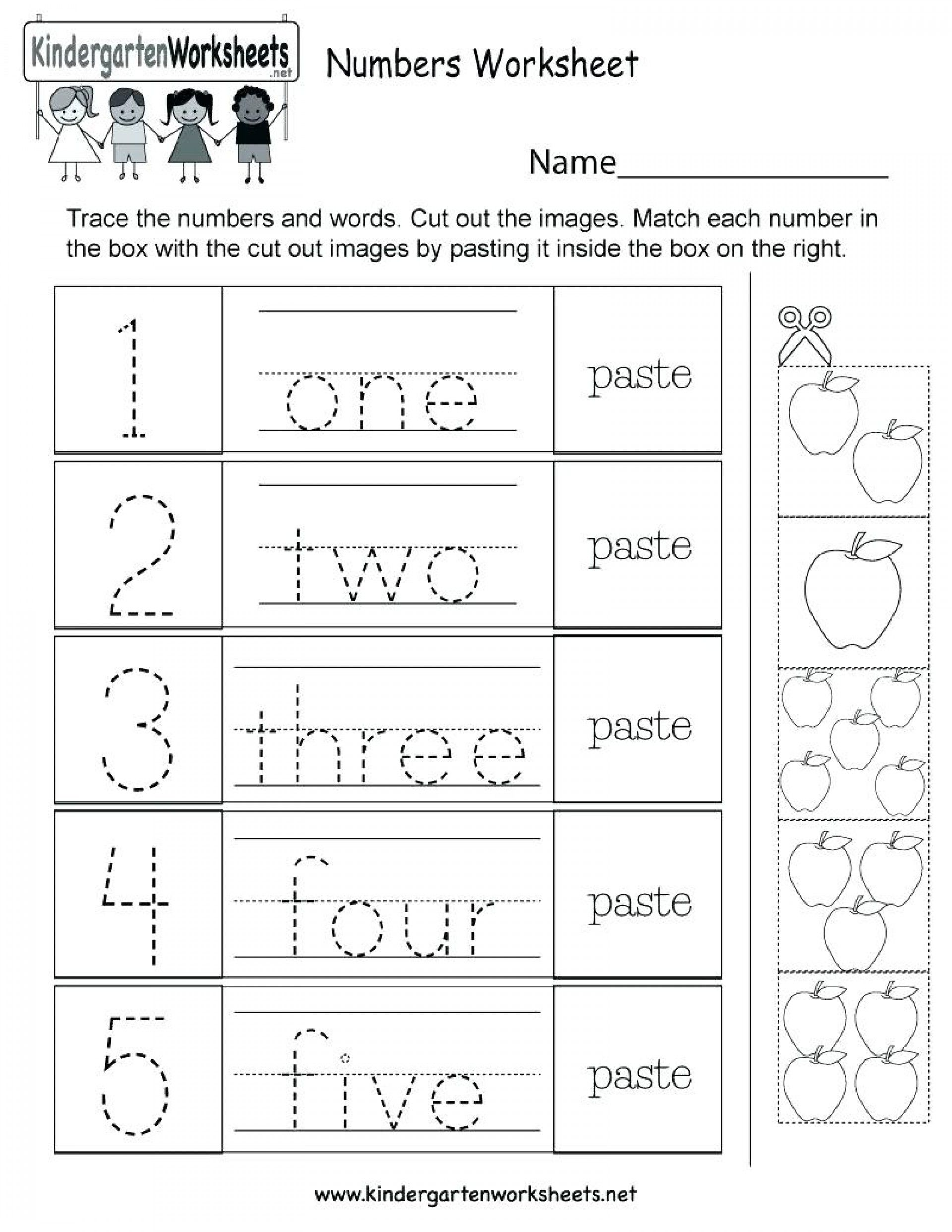 017 Kindergarten Worksheets Writing Free Spot The
