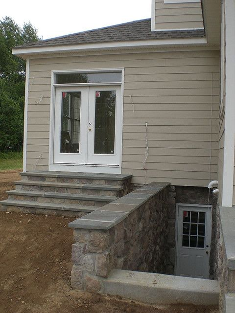 Outside basement entrance basement entrance basements for Adding exterior basement entry