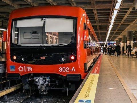 M300 sarjan metrojuna koeajossa - YouTube