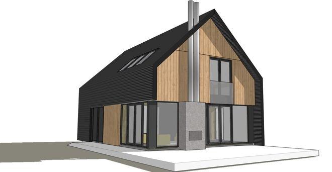 Herbouwhuis voor vrijstaande huizen uit de jaren 39 60 en 39 70 dingemans architectuur horeca - Model van huisarchitectuur ...