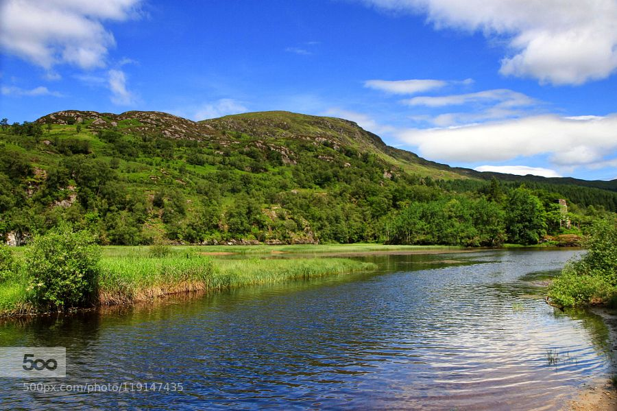 Loch Dochart by HildaMurray #landscape #travel