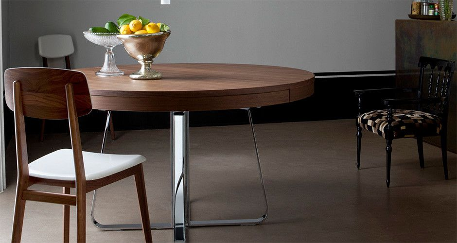 Charmant Ava (round) Dining Table By Ligne Roset Modern Conference Tables Los Angeles